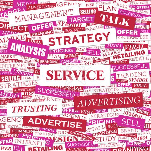 B2B prodej, hlavně technologií a služeb